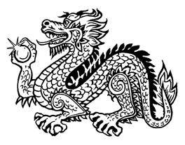 Chinese mythology saw the dragon as a symbol of wisdom.